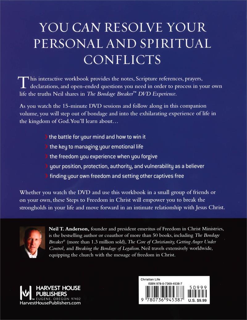 Workbooks spiritual gifts workbook : The Bondage Breaker Interactive Workbook