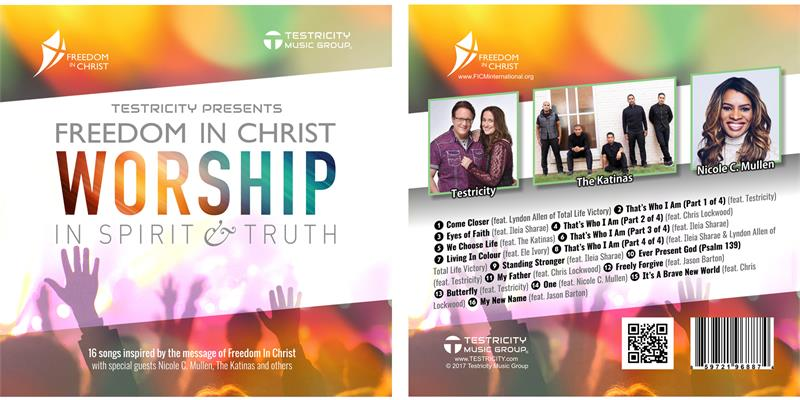 New Freedom in Christ Worship CD