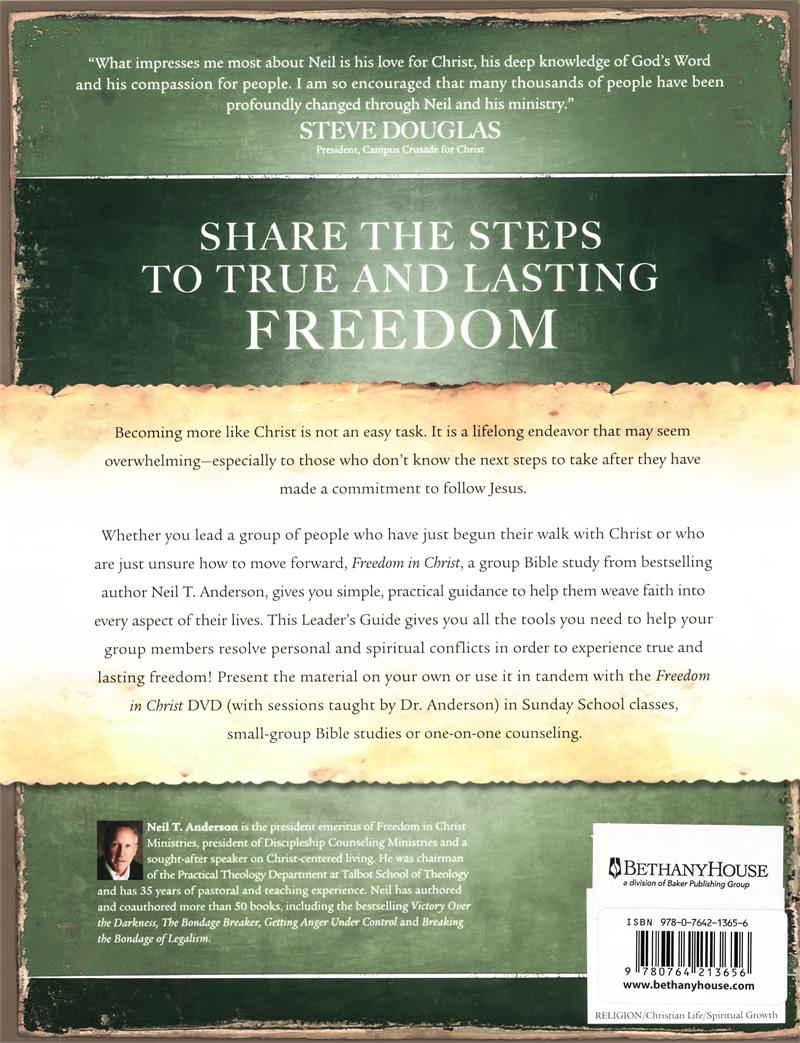 Freedom In Christ Small Group Bible Study Leaders Guide