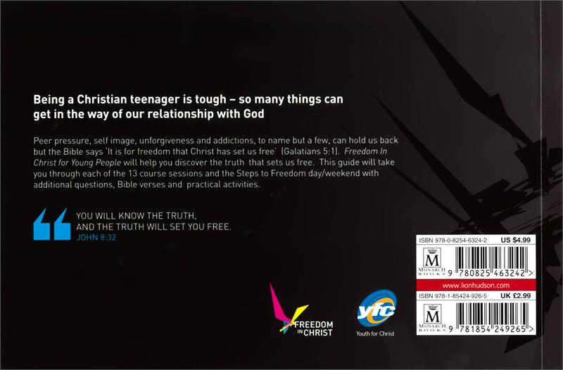 Freedom In Christ For Young People Student Guide Ages 15 18